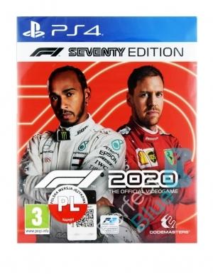 Gra PS4 F1 2020 / Edycja Siedemdziesięciolecia