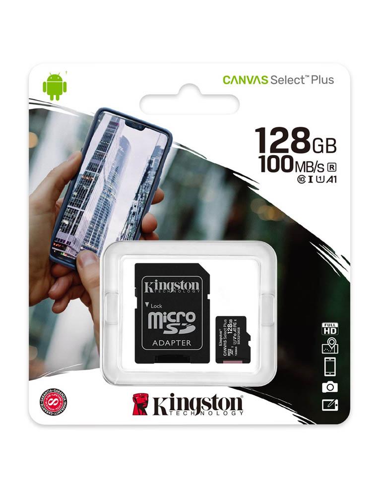 karta pamieci kingston 128 gb micro sd