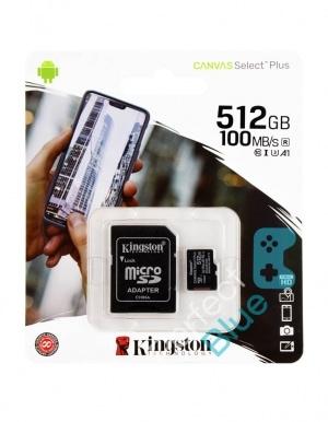Karta Pamięci do Nintendo Switch / Kingstone Canvas Select+ / 512GB