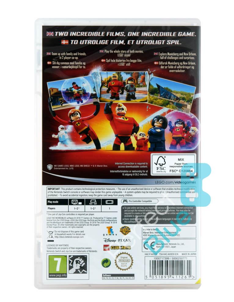 Gra Nintendo Switch Lego Iniemamocni / The Incredibles / PL