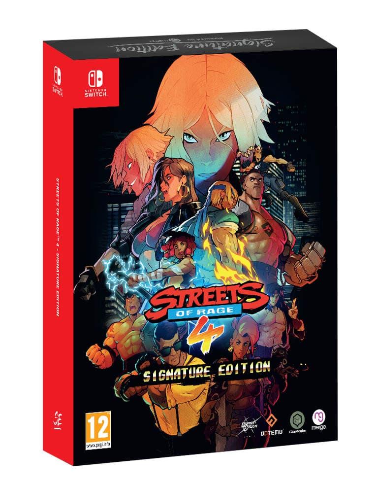 Gra Nintendo Switch Streets of Rage 4 Signature Edition