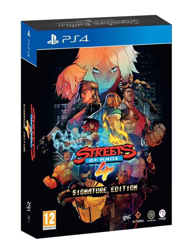 Gra PS4 Streets of Rage 4 Signature Edition