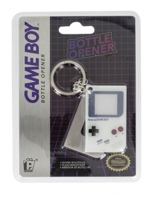 Gadżet Metalowy Brelok / Otwieracz do butelek / Game Boy
