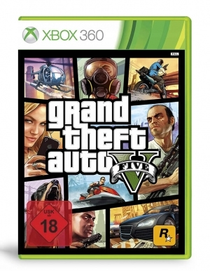 Gra Xbox 360 Grand Theft Auto V / GTA 5 PL