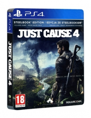 Gra PS4 Just Cause 4 Steelbook Edition PL