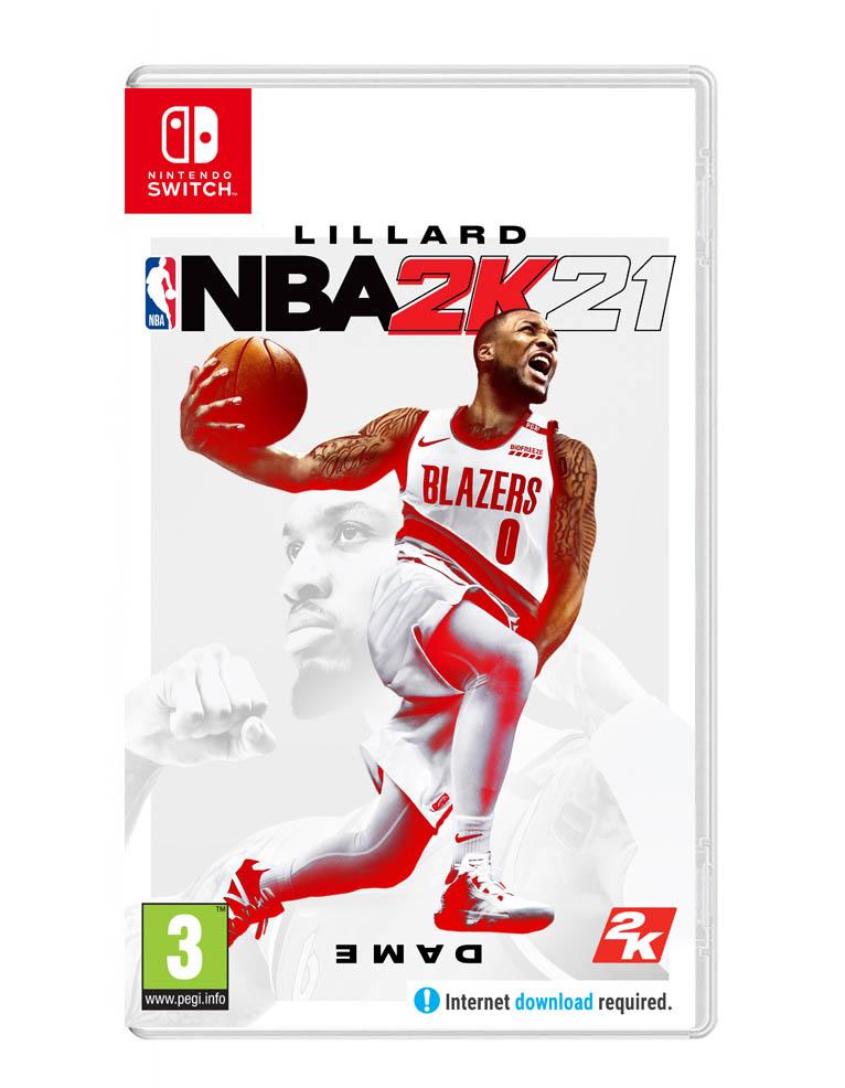 Gra Nintendo Switch NBA 2K21