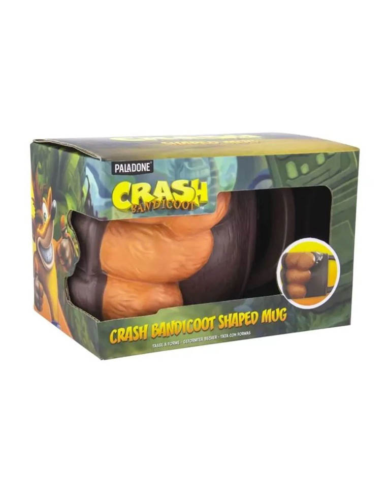 Gadżet Kubek Crash Bandicoot Pięść 3D