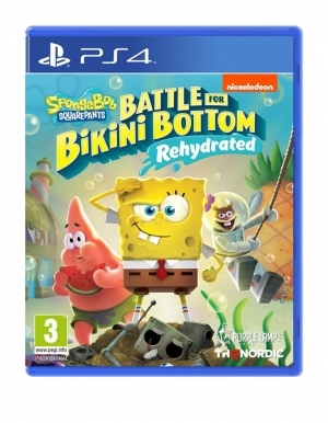 Gra PS4 Spongebob SquarePants: Battle For Bikini Bottom - Rehydrated PL