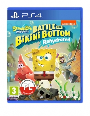 spongebob squarepants battle for bikini bottom rehydrated gra ps4 pl 2