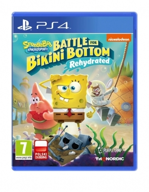 Spongebob Squarepants Battle For Bikini Bottom Rehydrated Gra Ps4 Pl
