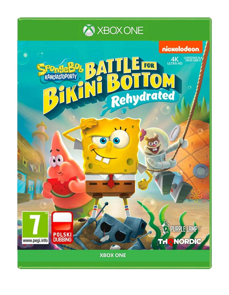 Spongebob Squarepants Battle For Bikini Bottom Rehydrated Gra Xbox One Pl