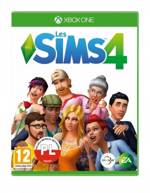 the sims 4 gra xbox one francuska les