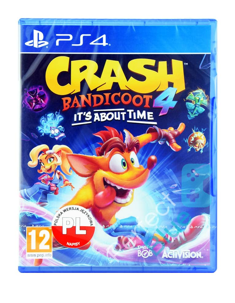 Gra PS4 Crash Bandicoot 4: It's About Time / Najwyższy czas