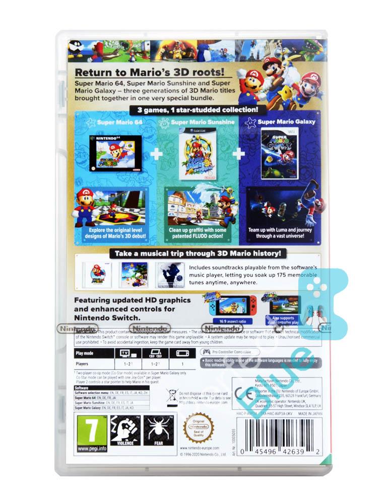 Gra Nintendo Switch Super Mario 3D All-Stars