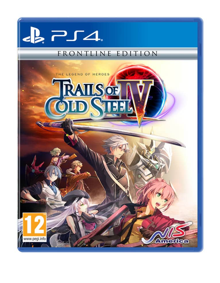 Gra PS4 The Legend of Heroes: Trails of Cold Steel IV - Frontline Edition
