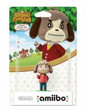 Amiibo Animal Crossing Digby Figurka 2