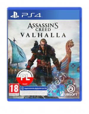 assassins creed valhalla gra ps4 pl wloska