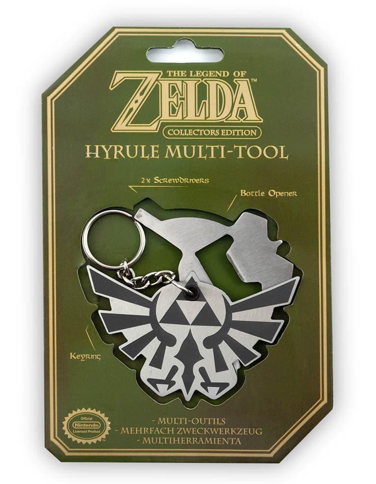 Brelok Otwieracz Zelda Hyrule Multi Tool Edycja Kolekcjonerska Collectors Edition