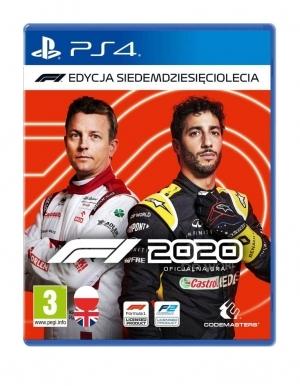 F1 2020 Edycja Siedemdziesieciolecia Gra Ps4 2