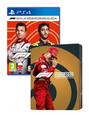F1 2020 Edycja Siedemdziesieciolecia Gra Ps4