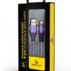 Kabel Iphone Ipad Premium Fioletowy 108065