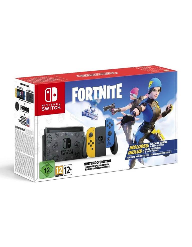 Konsola Nintendo Switch Fortnite Edition
