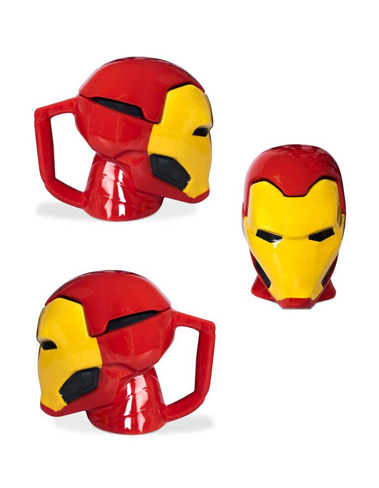 Kubek Termiczny Iron Man 3 D Marvel 3