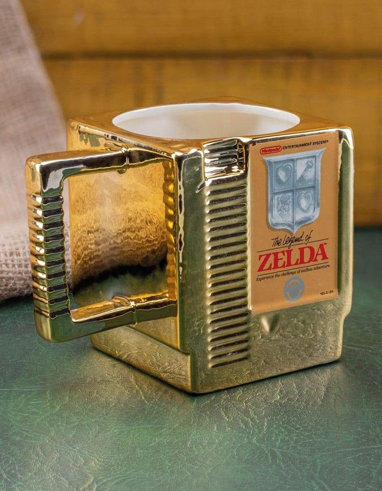 Kubek The Legend Of Zelda Cartrige Zloty Gold 2