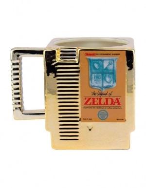 Kubek The Legend Of Zelda Cartrige Zloty Gold