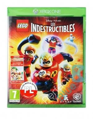 Lego Iniemamocni Gra Francuska Xbox One Przod Logo