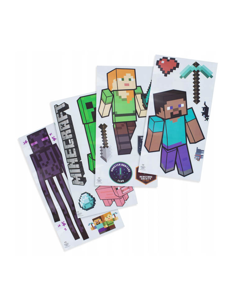 Naklejki Scienne Minecraft Wall Decals 2