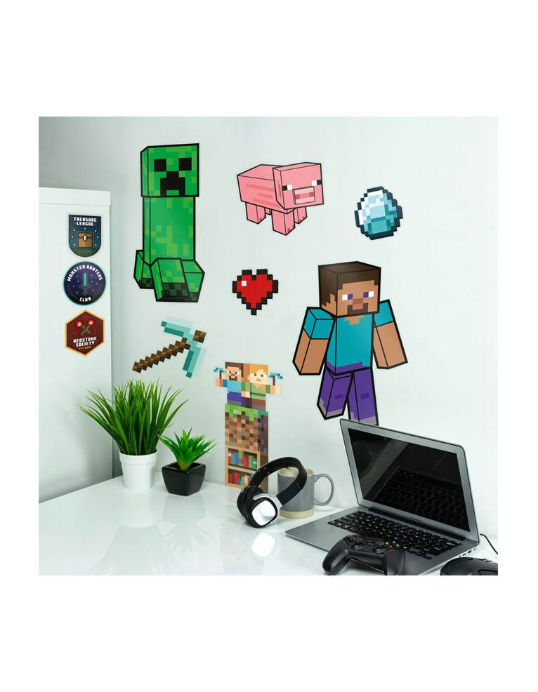 Naklejki Scienne Minecraft Wall Decals 3