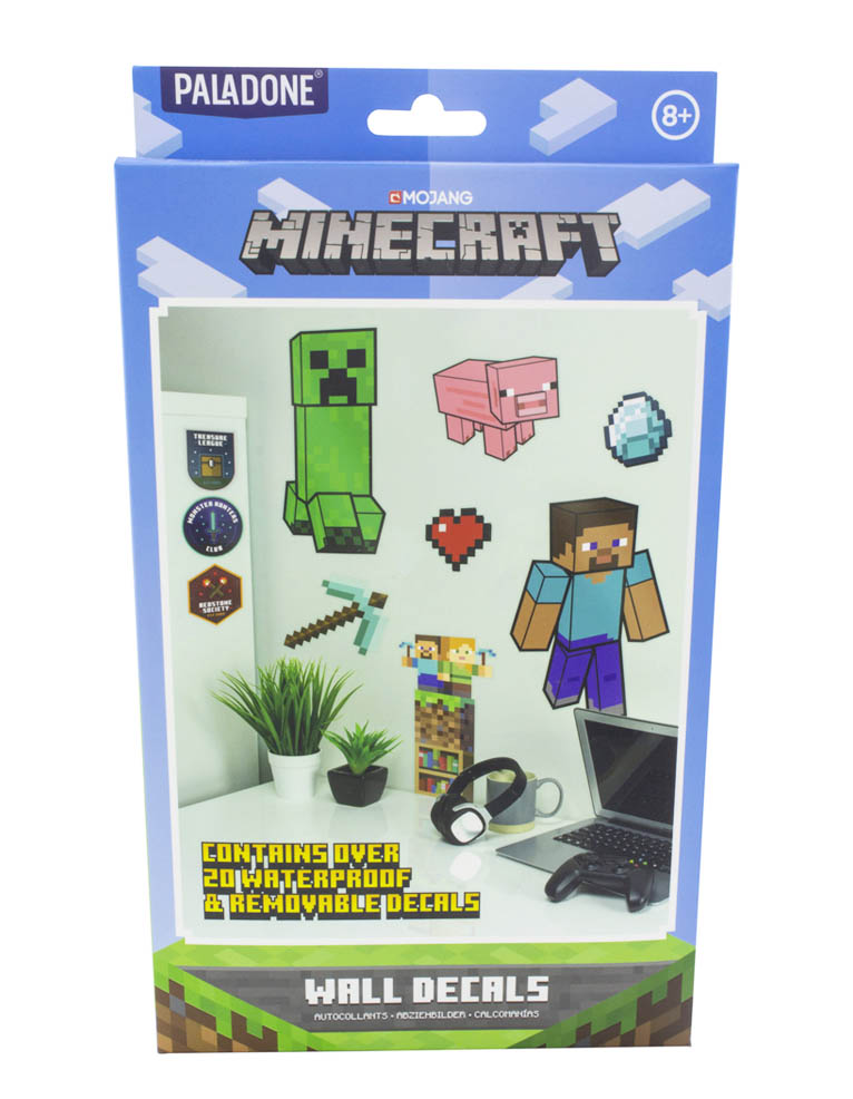 Naklejki Scienne Minecraft Wall Decals