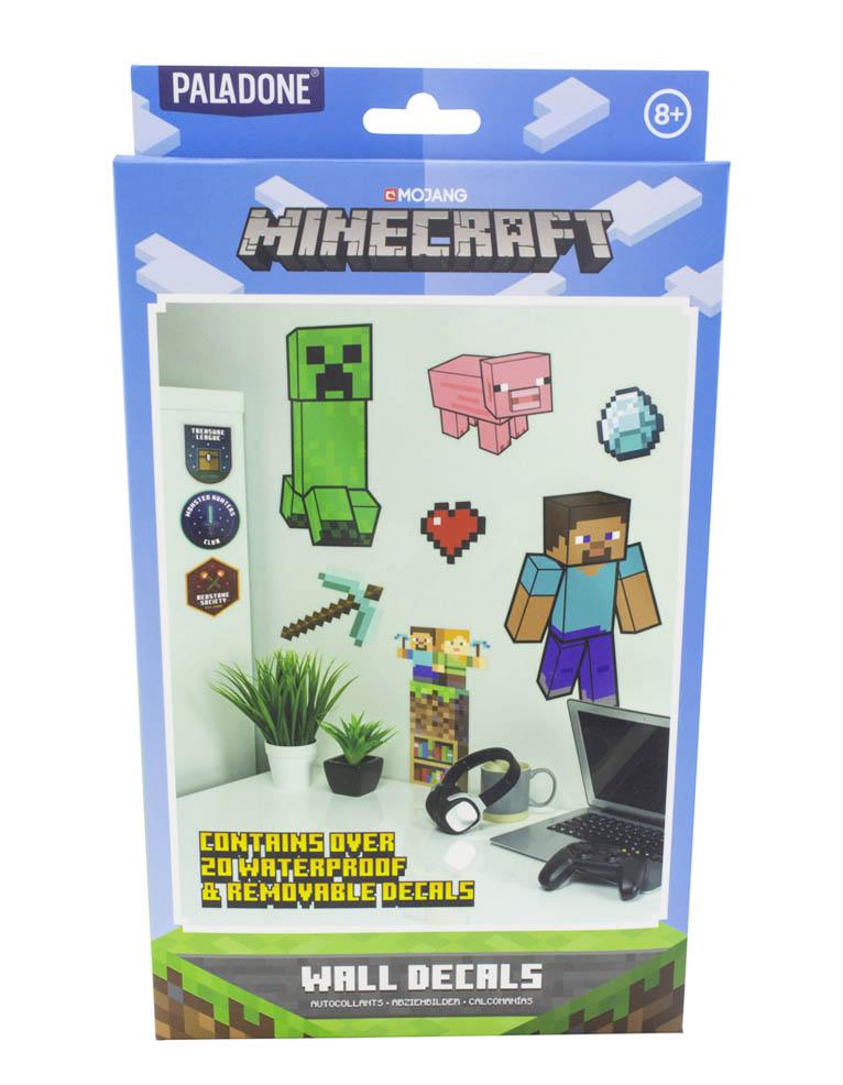 Naklejki Scienne Minecraft Wall Decals