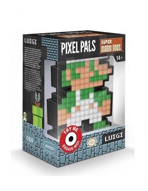 Gadżet Lampka / Figurka Pixel Pals - Luigi 010