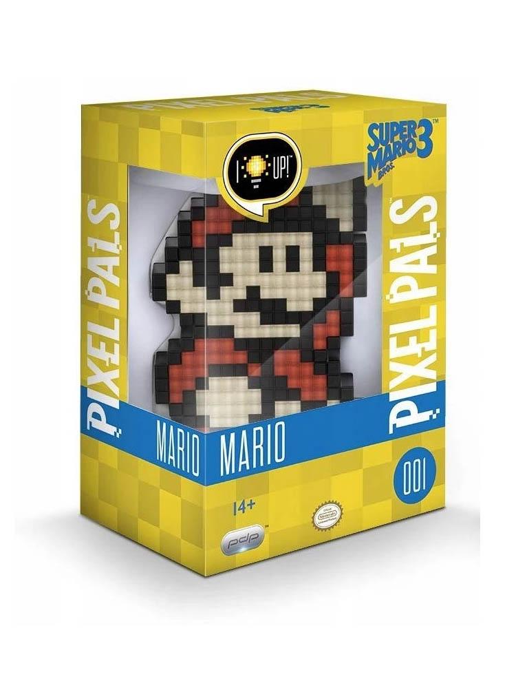 Gadżet Lampka / Figurka Pixel Pals - Super Mario Bros. 3 - Mario 001