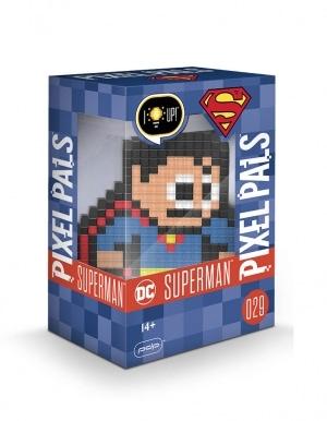 Gadżet Lampka / Figurka Pixel Pals - Superman 029