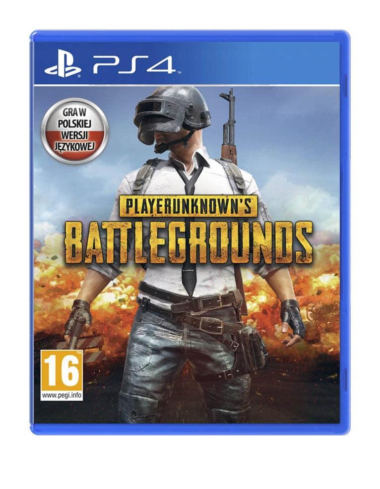 Gra PS4 - Playeruknown's Battlegrounds PL