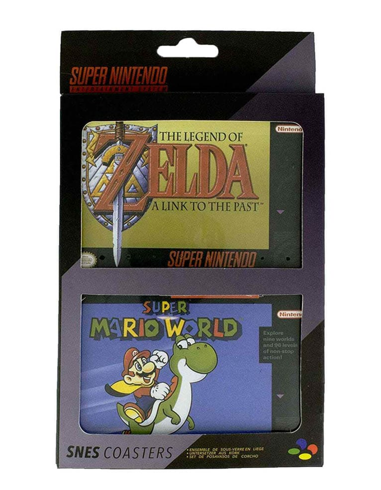 Podkladki Pod Kubek Zelda Super Mario Super Metroid Snes Nintendo 2