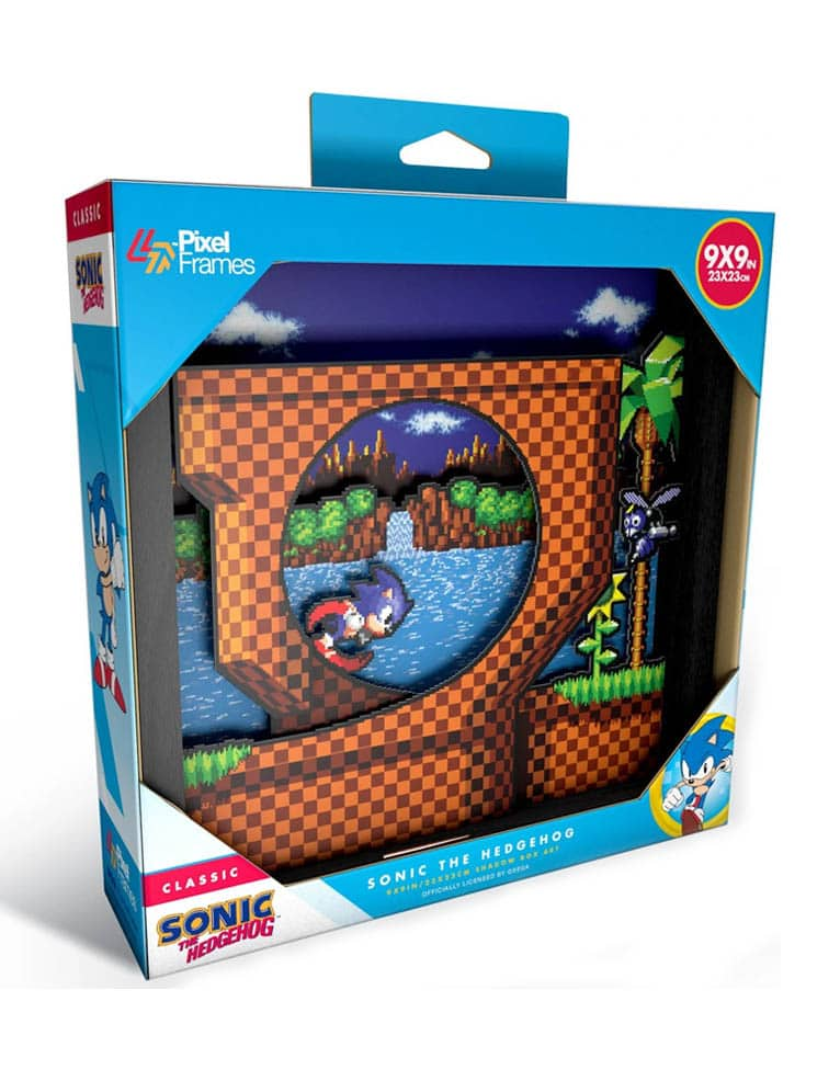 Ramka Sonic Hedgehog Pixel Frames Retro
