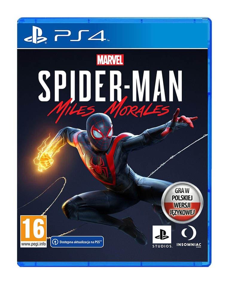 spider man miles morales gra ps4 pl