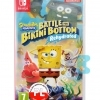 Spongebob Squarepants Battle For Bikini Bottom Rehydrated Gra Nintendo Switch Przod Logo