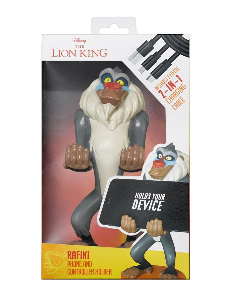 Stojak Figurka Cable Guys Lion King Krol Lew Rafiki 4