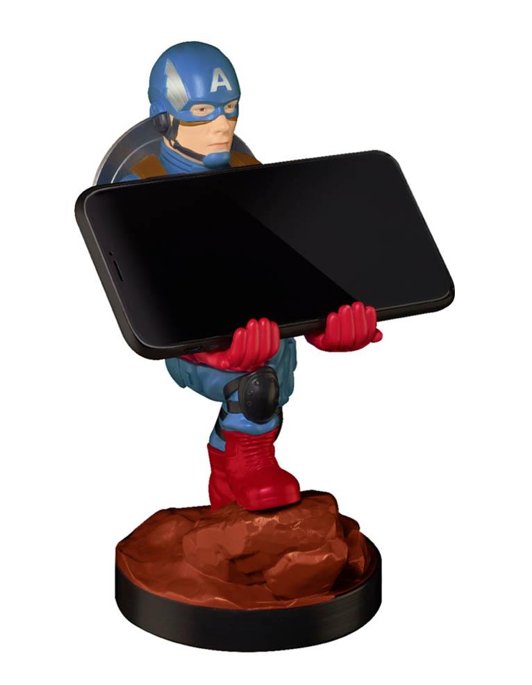 Stojak Figurka Cable Guys Marvel Avengers Captain America Kapitan Ameryka 3