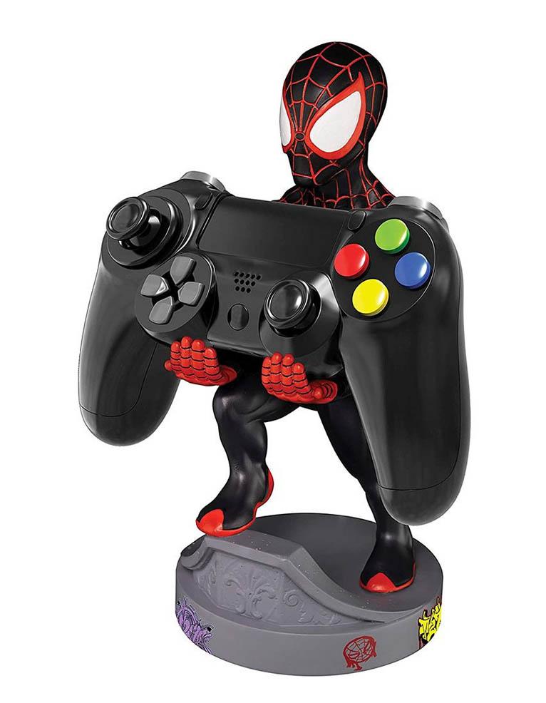 Stojak Figurka Cable Guys Marvel Spider Man Miles Morales 2