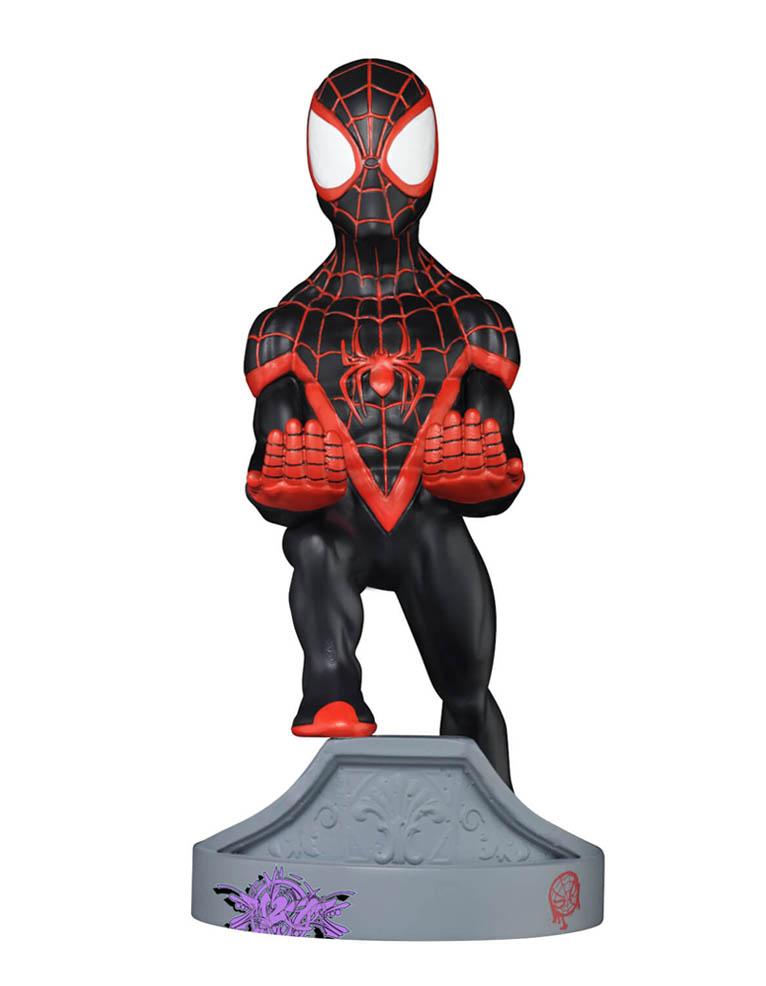 Stojak Figurka Cable Guys Marvel Spider Man Miles Morales