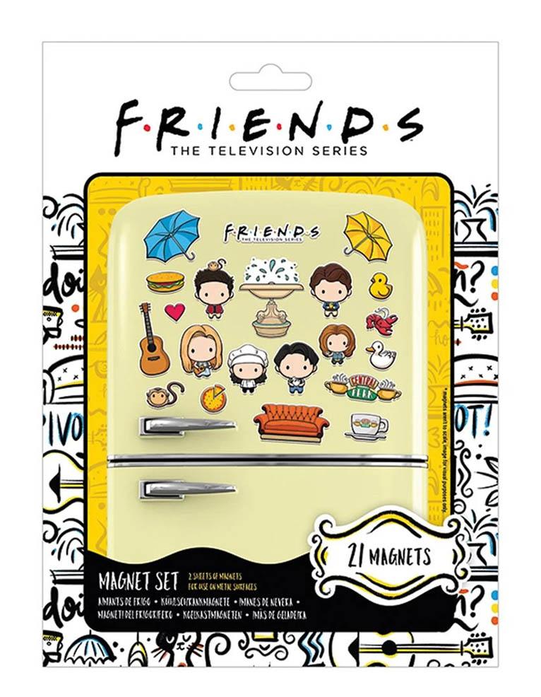Zestaw Magnesow Przyjaciele Friends 21 Magnets