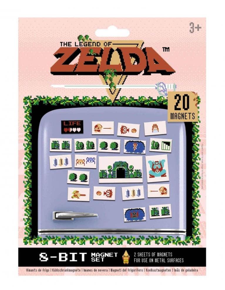 Zestaw Magnesow The Legend Of Zelda 8 Bit 20 Magnets