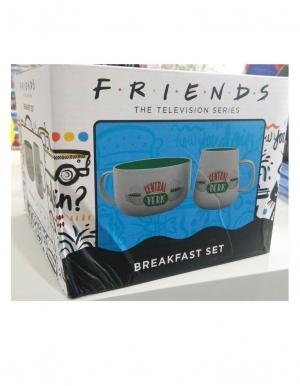 Zestaw Sniadaniowy Breakfast Set Przyjaciele Friends Central Perk Kubek Miska 3