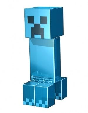 Niebieski Blue Creeper Figure Action Minecraft 2